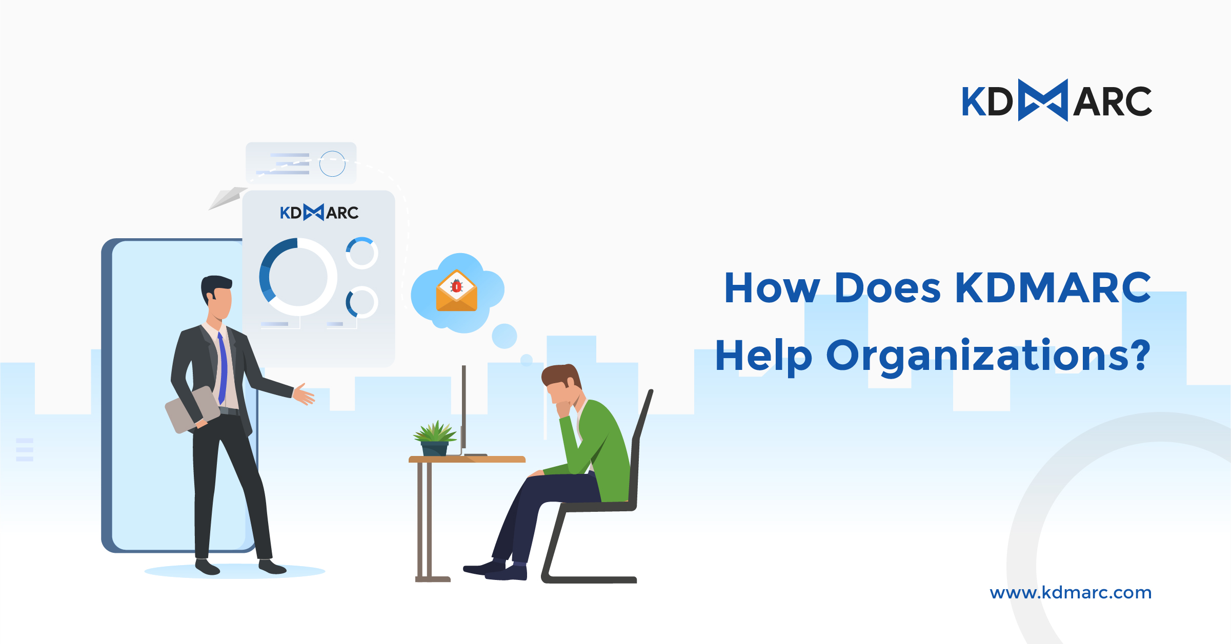 How does KDMARC help organizations?
