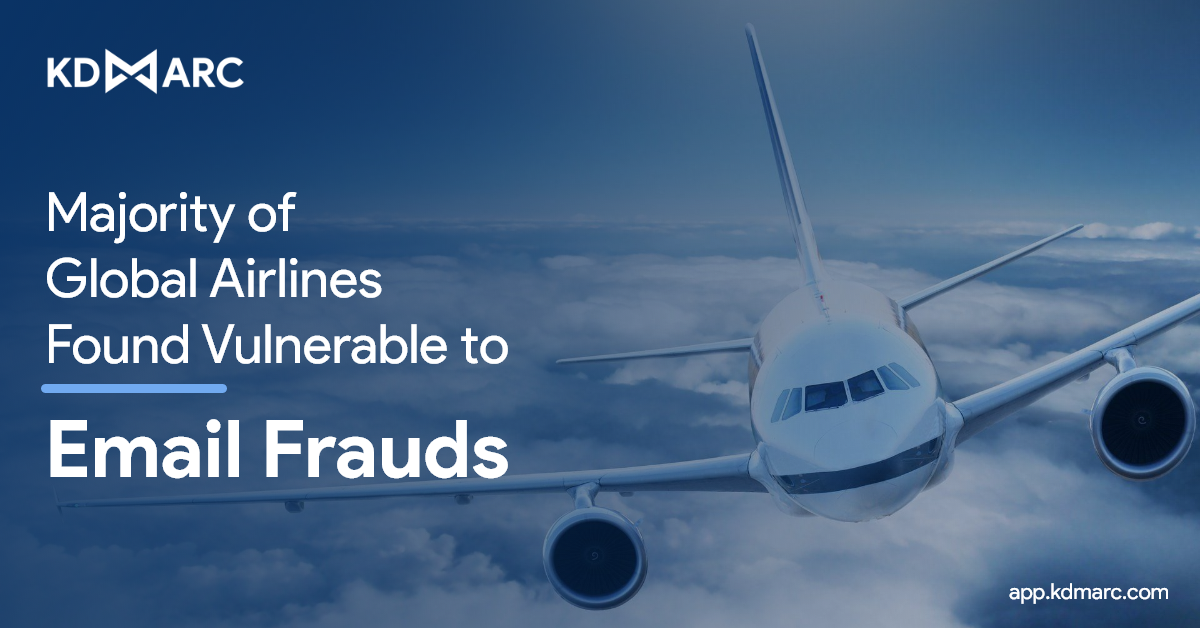 61% of Airlines Under IATA at Risk of Email Frauds!